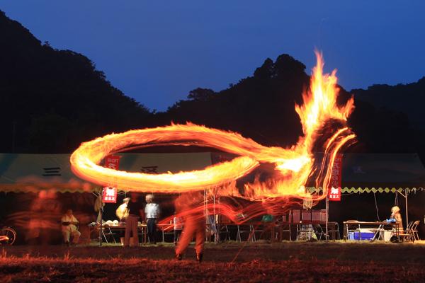 炎のドラゴン