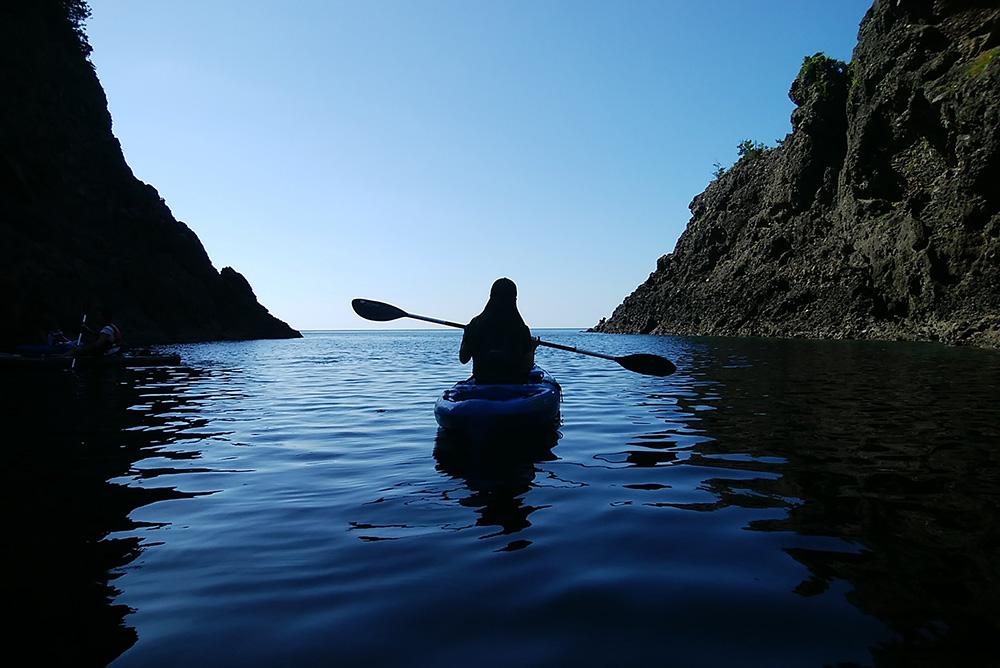 休暇村竹野海岸 (シーカヤック)