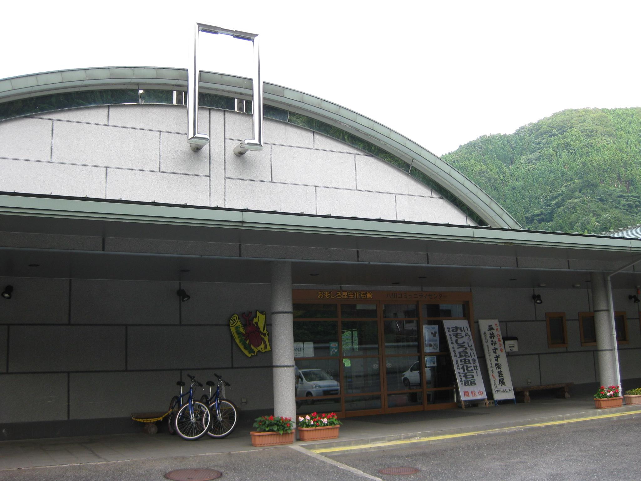新温泉町おもしろ昆虫化石館
