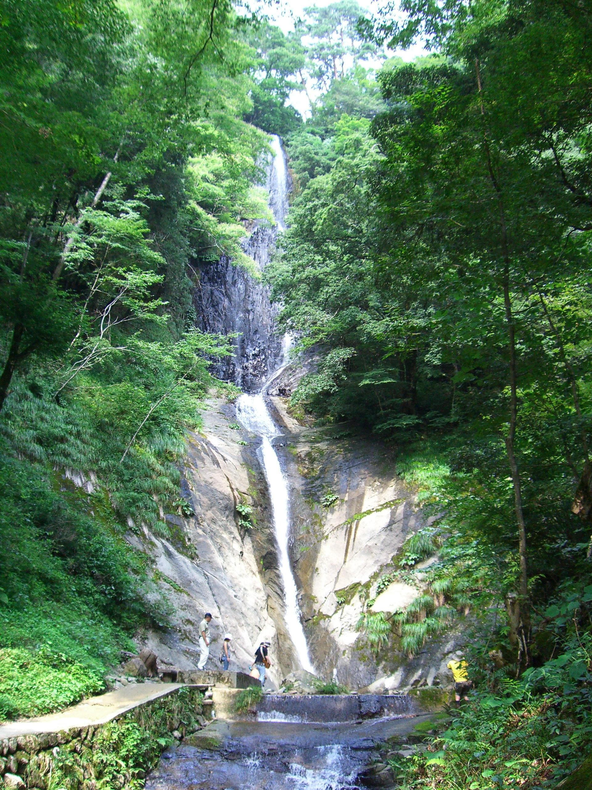 猿尾滝(夏)