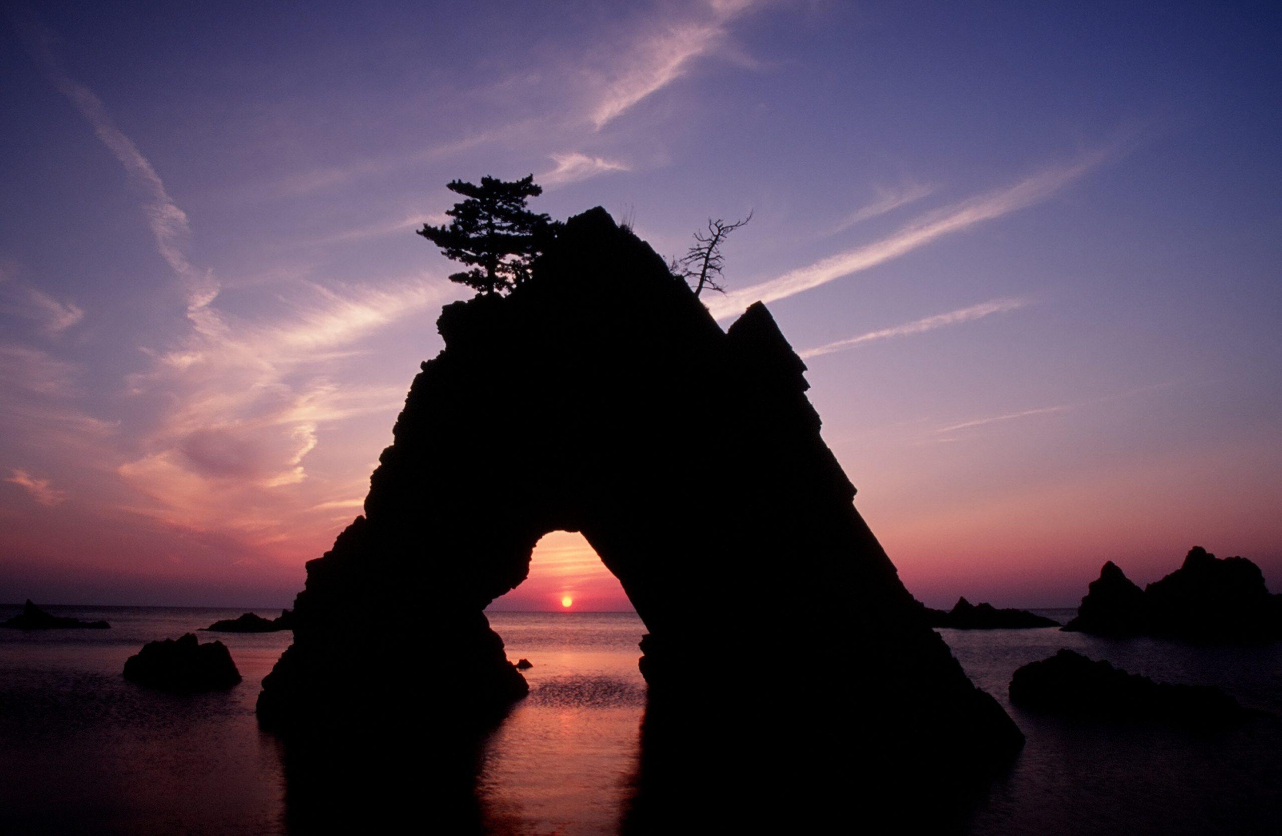 千貫松島(夕陽)